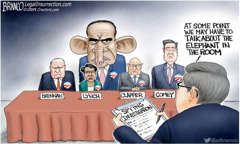 branco brennan obama lynch barr spy comey clapper